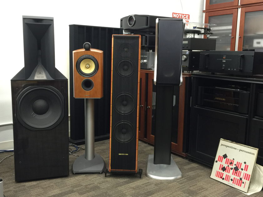 B&W Bowers & Wilkins Diamond 805D2 Cherry Speakers with Factory Boxes near San Francisco...................