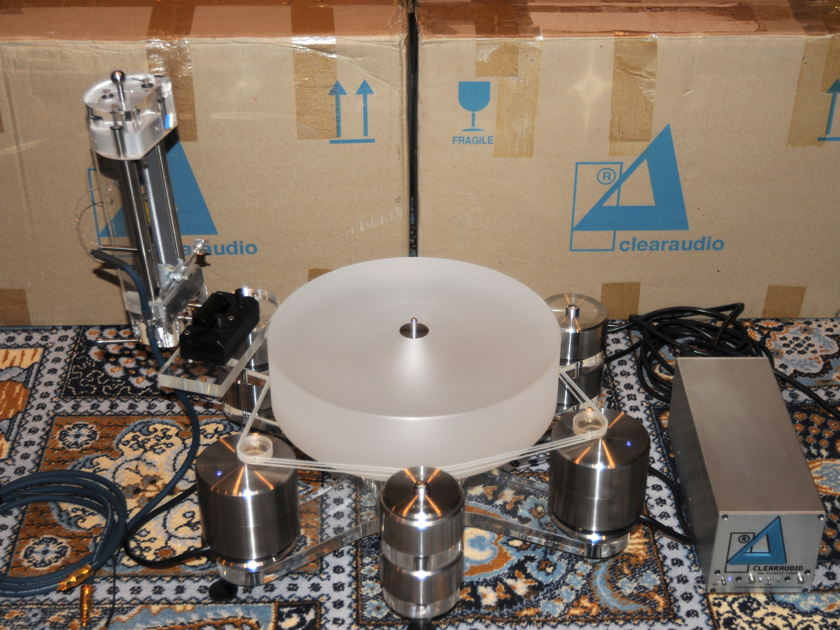 ClearAudio Master Reference turntable
