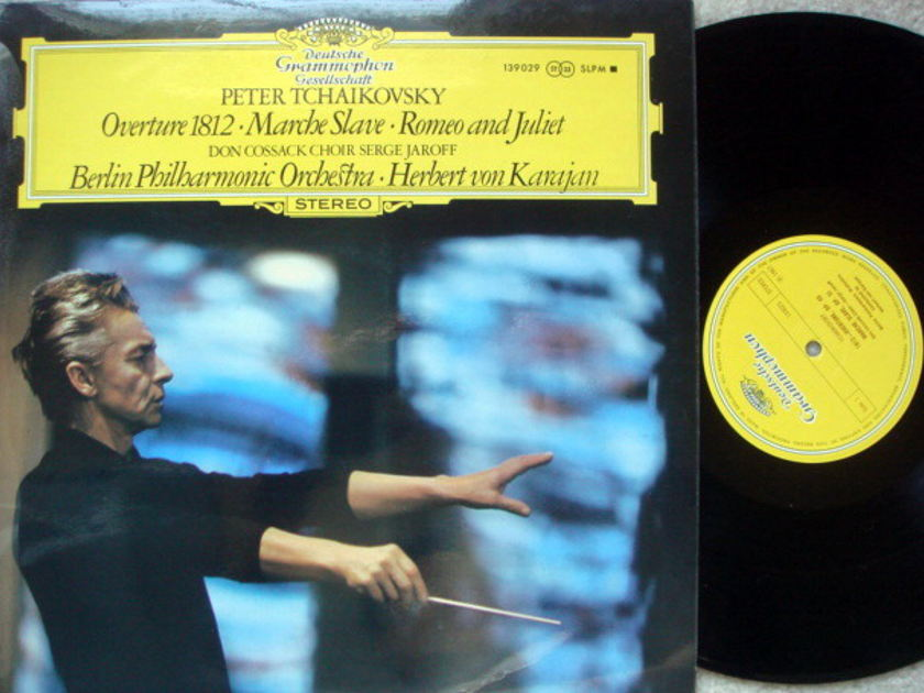 DGG / Tchaikovsky 1812 Overture / - Marche Slave, KARAJAN/BPO, MINT, UK Press!