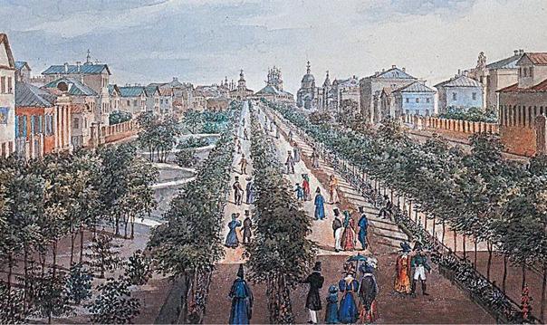 Легендарные бульвары Москвы