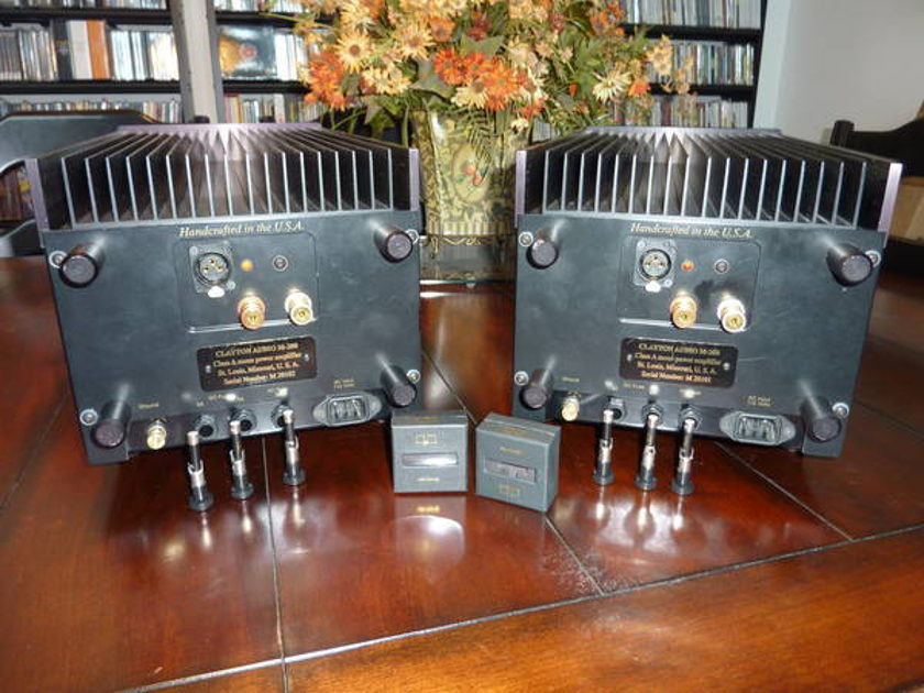 Clayton Audio M200 Class A Mono blocks