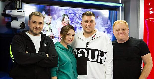 Александр Незлобин в гостях у «Русских Перцев» - Новости радио OnAir.ru