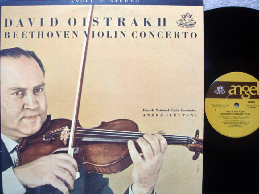 EMI Angel / OISTRAKH, - Beethoven Violin Concerto, NM!