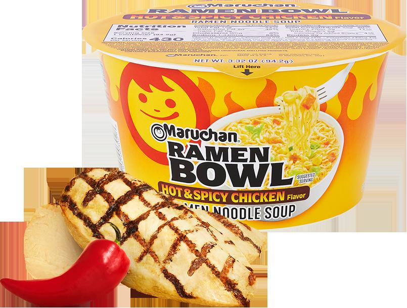 Hot & Spicy Chicken Flavor