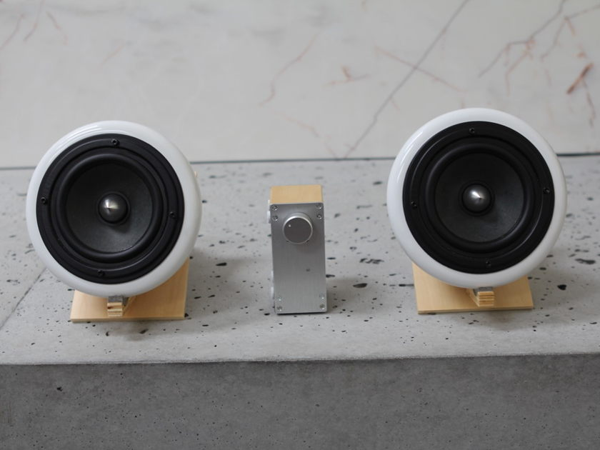 Joey Roth Ceramic Desktop Speakers -  Great Sound - Beautiful
