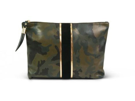 Kempton & Co. Camo Clutch