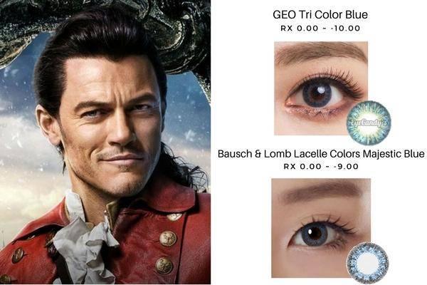 Gaston's Blue Eyes