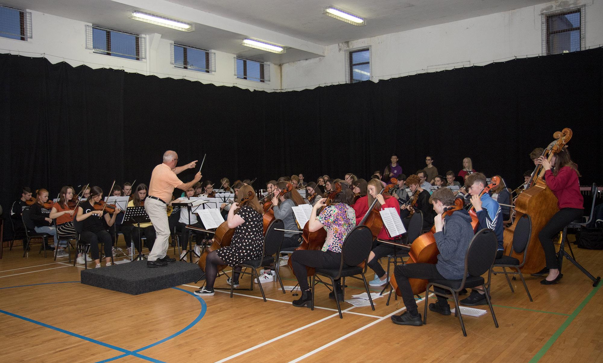 Symphonic Waves Clonbur Rehearsal