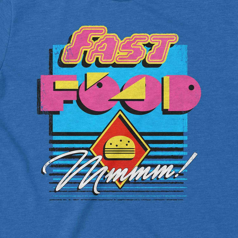 Fast FoodRetro Inspired Unisex Graphic T Shirt