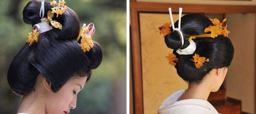 Traditional Japanese Bridal Hairstyle