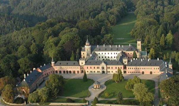 Гордость Чехии (из Праги) Замок Сихров и пивовар
