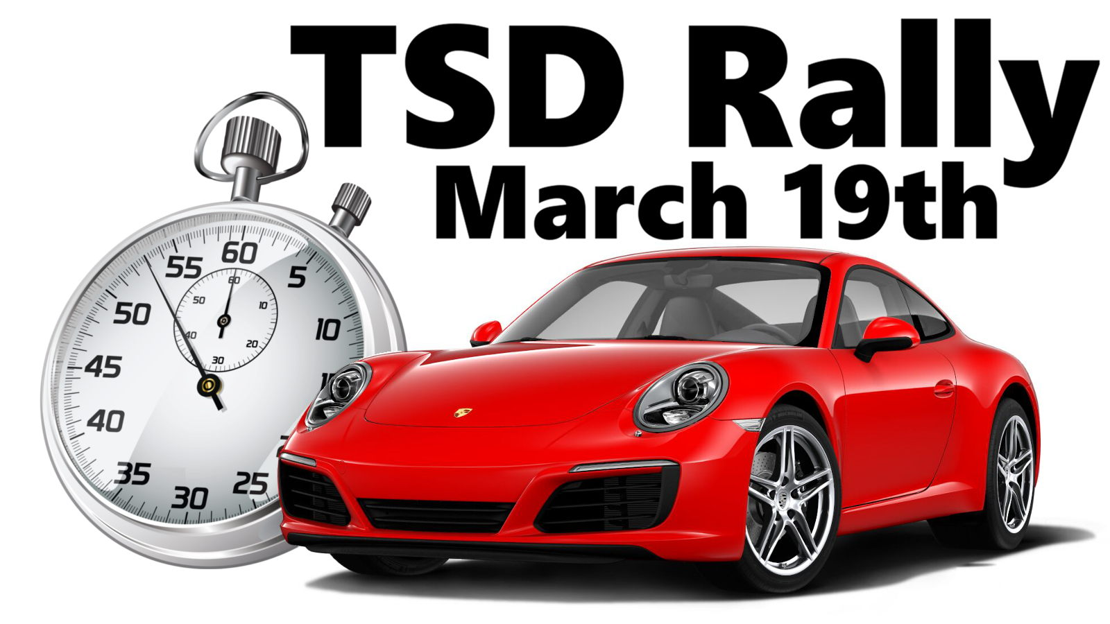 TSD Rally, March 19th, 2017