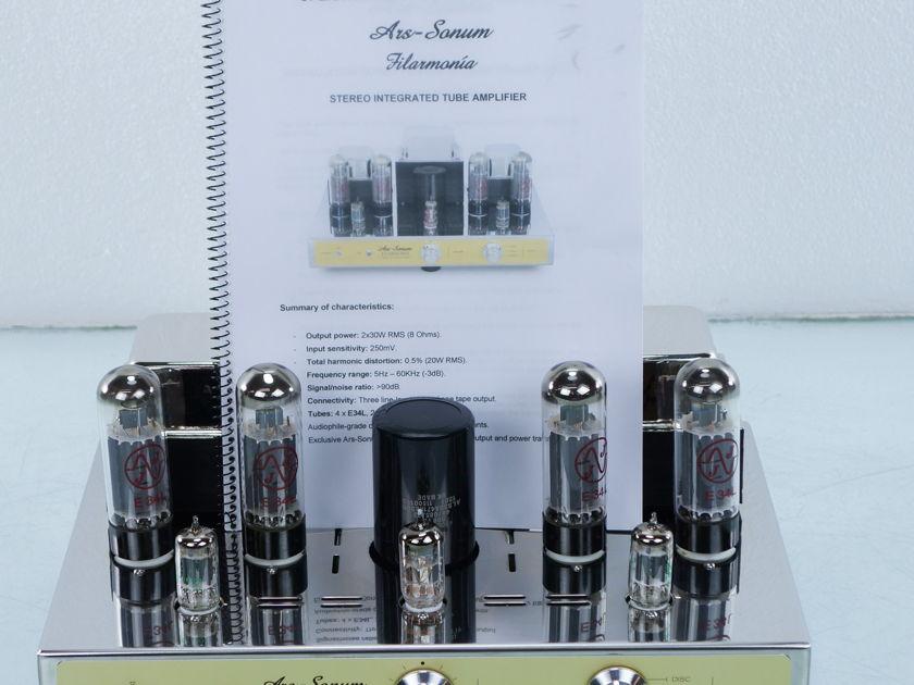 Ars-Sonum Filarmonia SJ Tube Integrated Amplifier (8266)