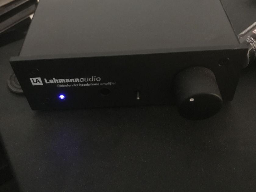 Lehmann Audio Rhinelander Audiophile headphone amplifier