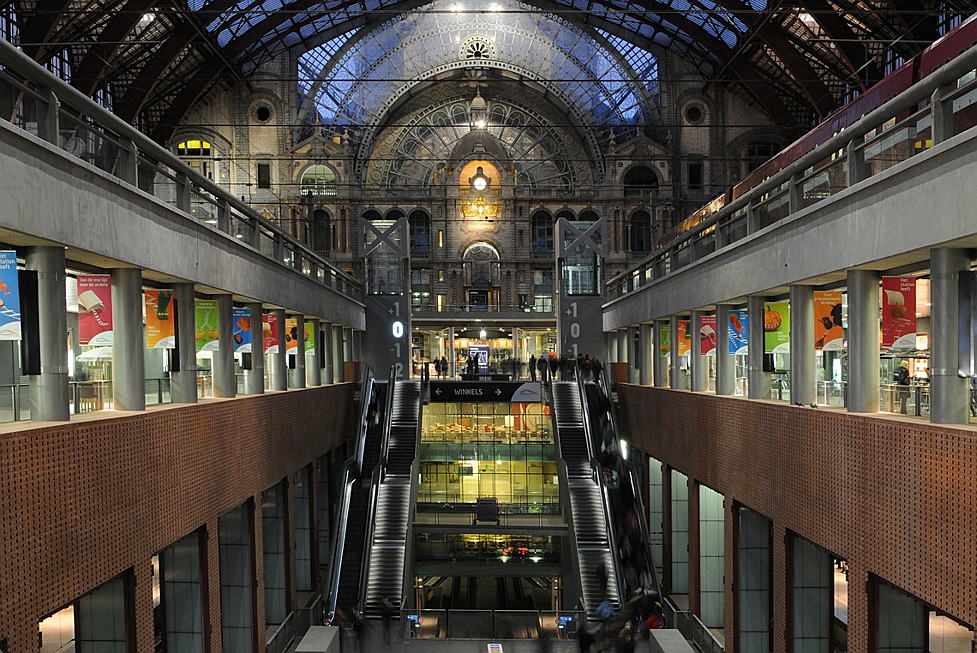 Brussels - Gare d'Anvers, Belgique