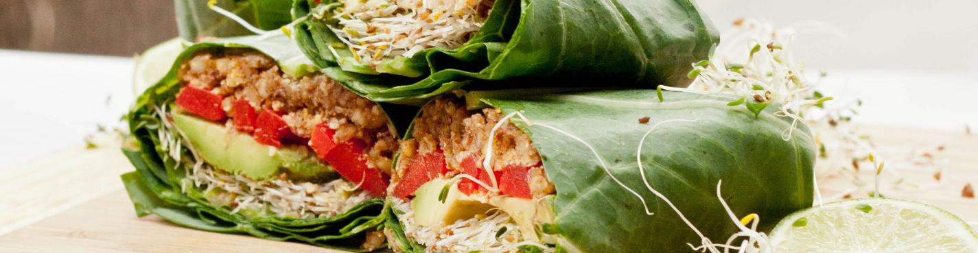 Vegetarian food in SPb: Go vegan, come with us!