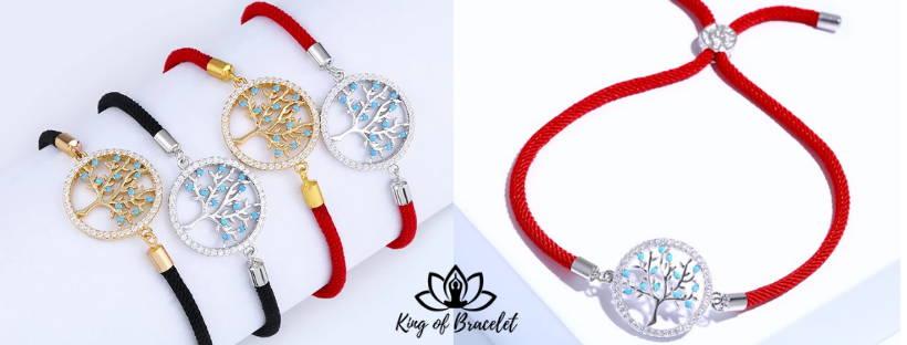 Bracelet Arbre de Vie en Cordon - King of Bracelet