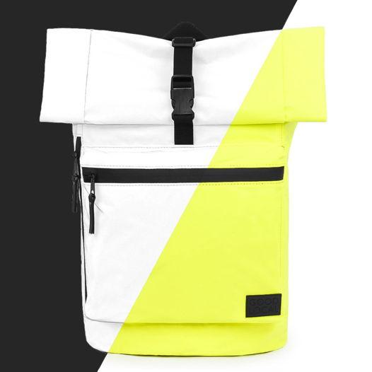Рюкзак роллтоп светоотражающий GOOD LOCAL Rolltop Reflective W/Zip Yellow