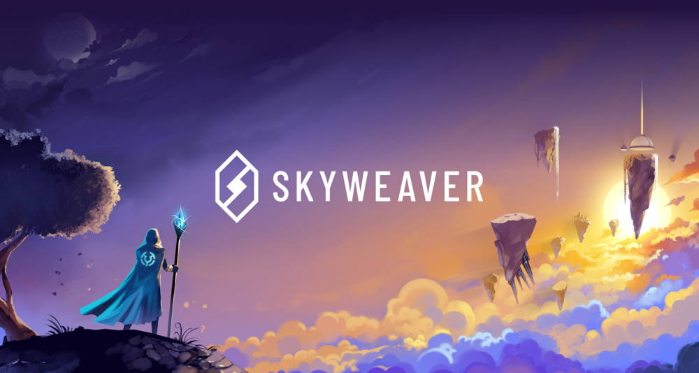 The cryptocurrency game Sky-weaver