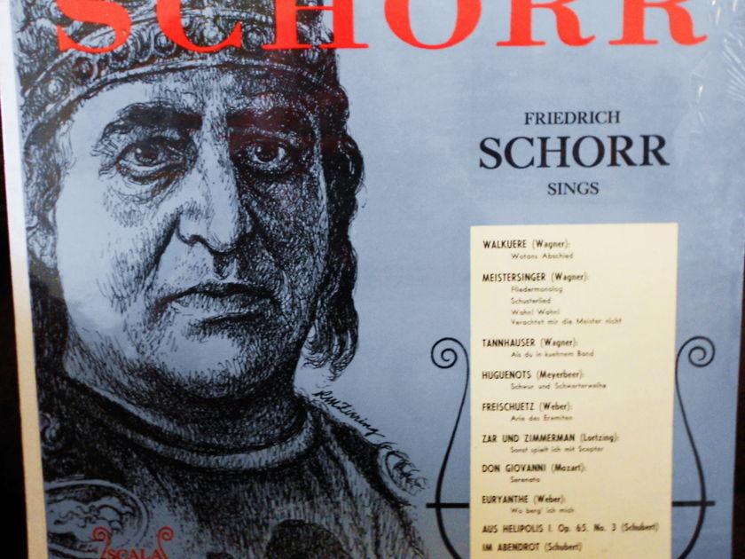FACTORY SEALED ~ FRIEDRICH SCHORR ~ - SINGS ARIAS ~ 10 OPERAS SCALA 842 (1968)