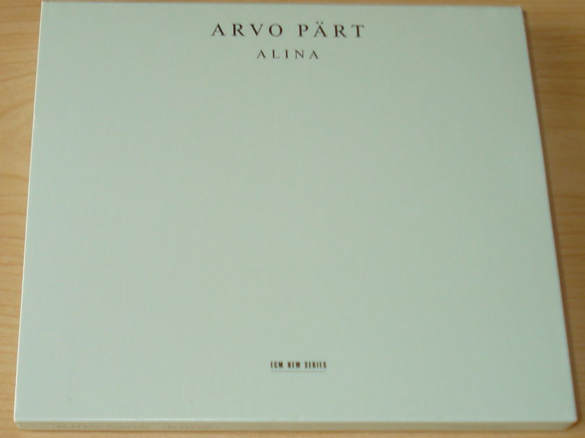 Avo Part - Alina ECM CD