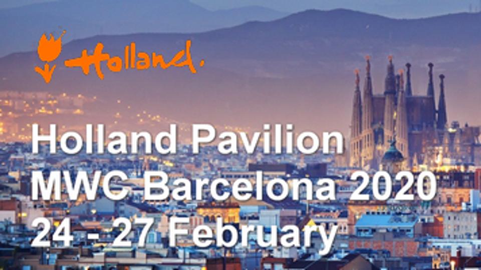 Holland Pavilion @ MWC Barcelona 2020