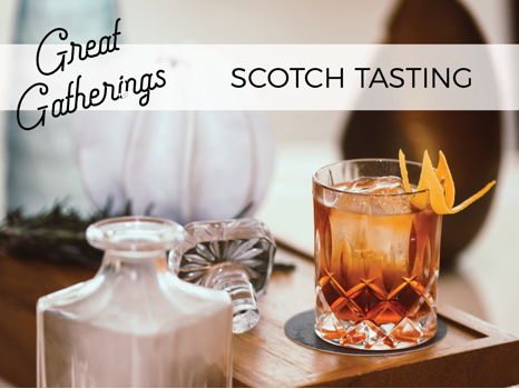 Scotch Tasting Party