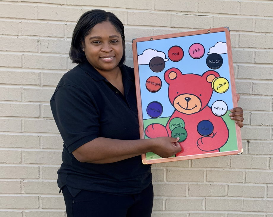 Ms. Nicecy Edwards , Co - Lead Young Toddler Teacher