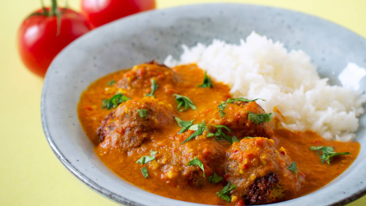 Vegetarian Cabbage Kofta