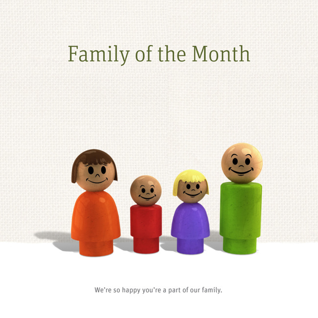 Family of the Month: July