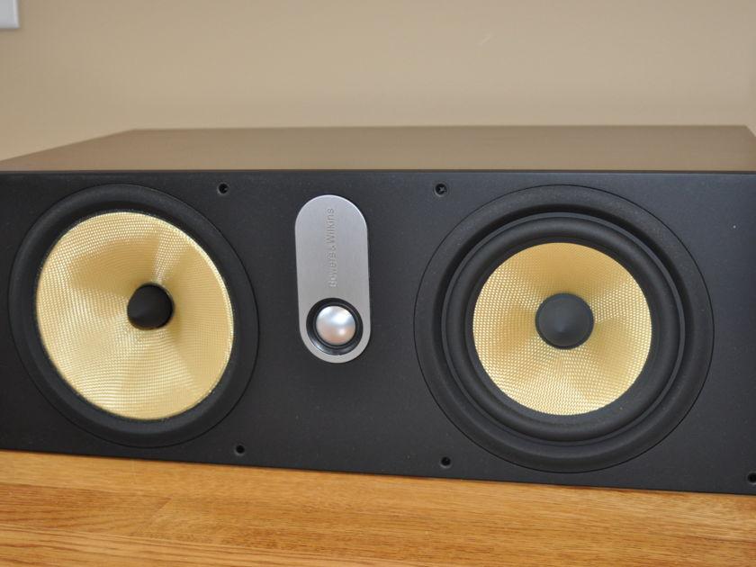 B&W HTM-61 Cherry Center Channel Speaker