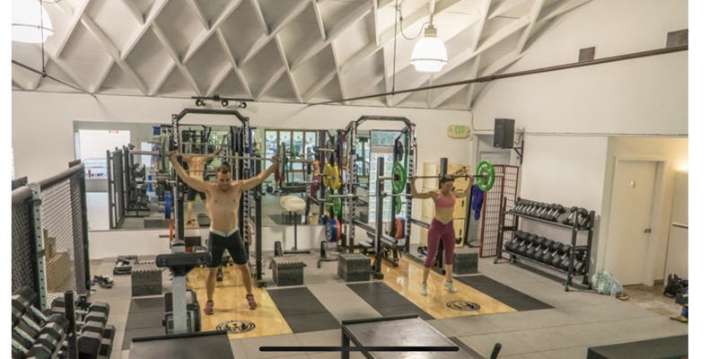 personal training rental space