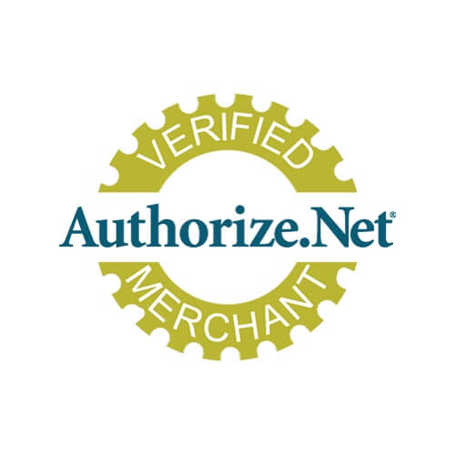 4 footer authorize.net verified merchant seal logo