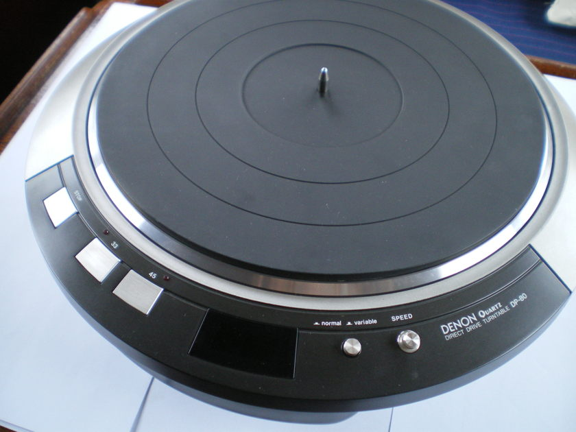 Denon DP80 Turntable in Excellent condition