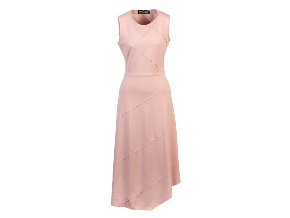 Розовое платье MD