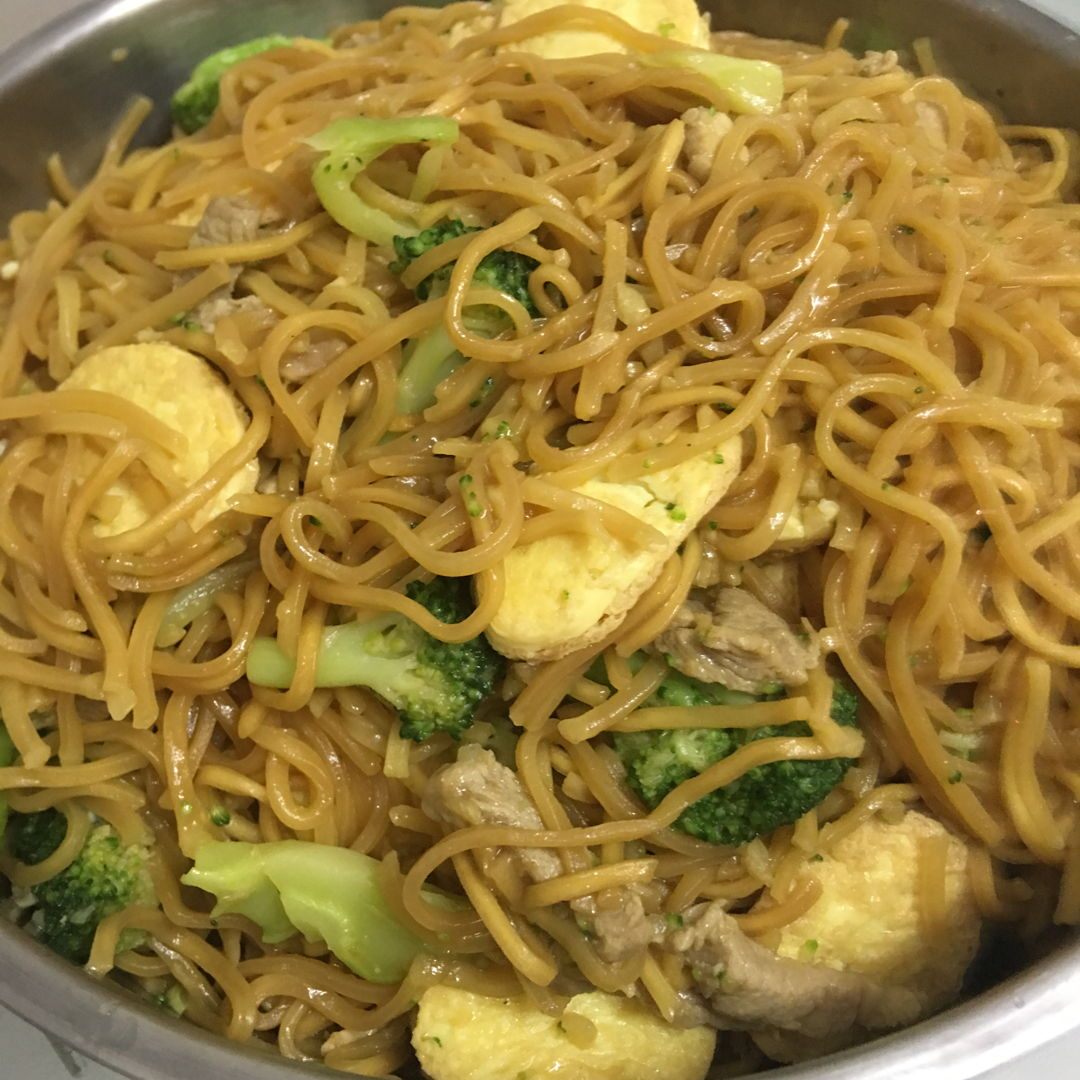 May 16th, 20 - fried yee mee. No more stock at home now.