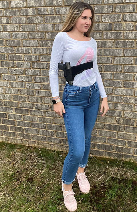 Praetorian shoulder and belly holster | Praetorian holster | Praetorian chest holster | Praetorian chest and belly holster | concealed shoulder holster, best shoulder holster, women shoulder holster