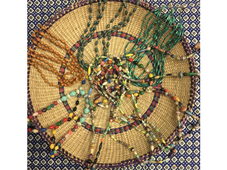 Handmade Paper Bead Necklaces