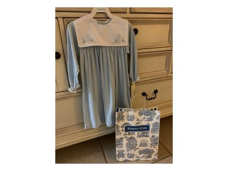 Banbury Cross Blue Bird Knit Dress