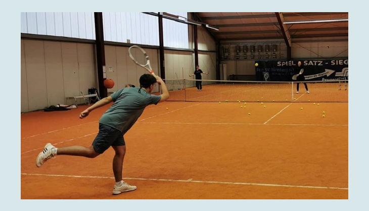 tennisjessen kindergeburtstag spielfeld schlag