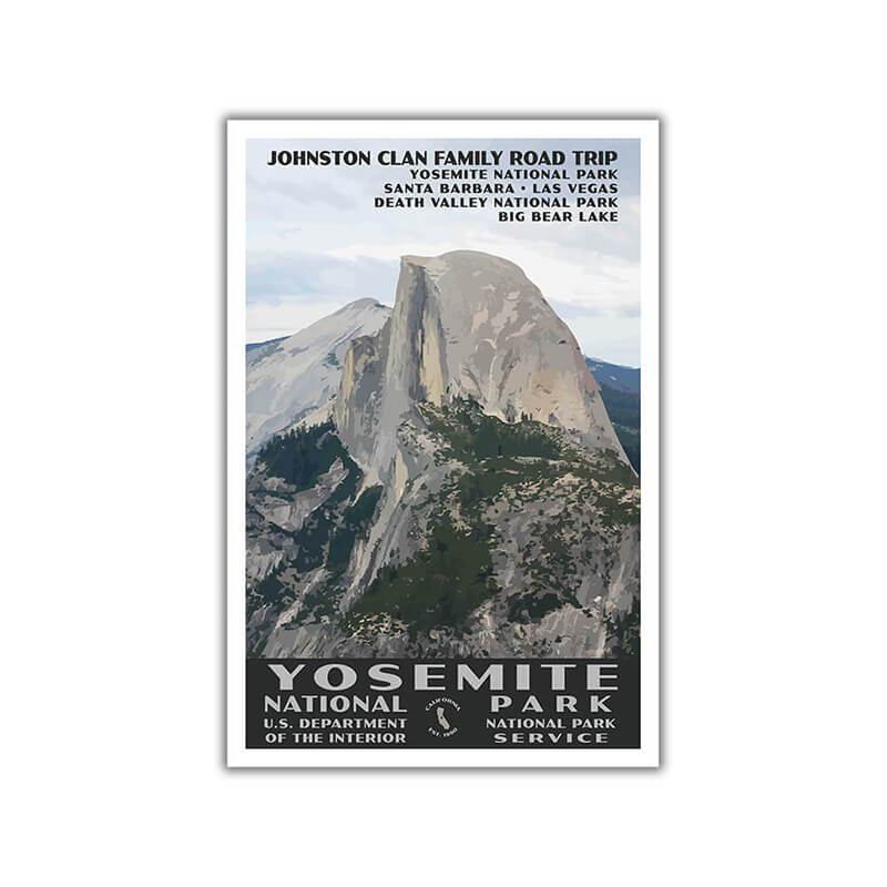 Yosemite National Park Poster