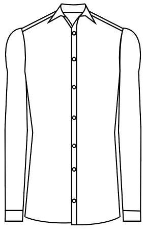 TailorMate | skræddersyet skjorte i slim fit