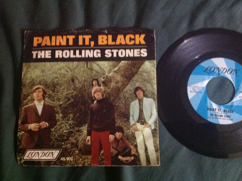 Rolling Stones - Paint It,Black 45 With Sleeve London Records Label