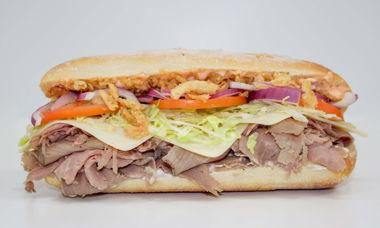 Big Star Sandwich Roast Beef,Provolone,Garlic Aioli