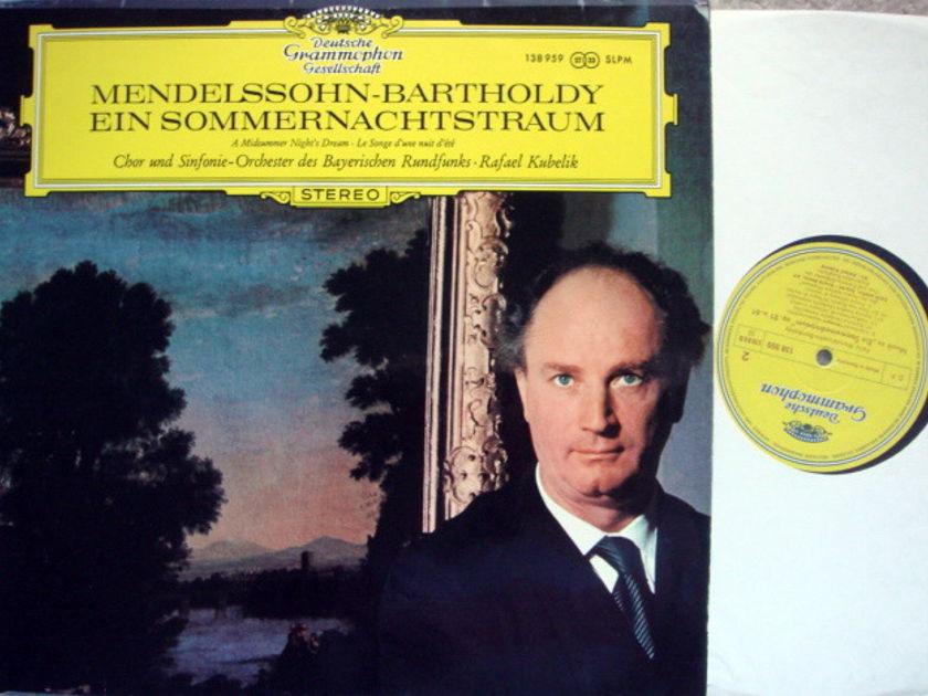 DGG / KUBELIK-SOBR, - Mendelssohn A Midsummer Night's Dream, NM!