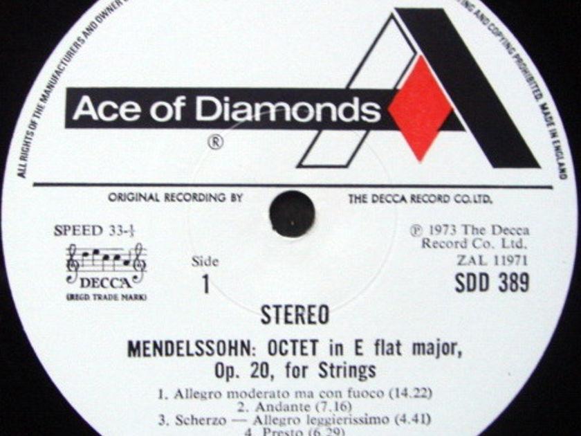DECCA SDD / VIENNA OCTET, - Mendelssohn Octet, MINT!