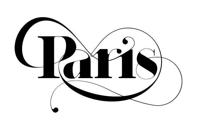 Paris Typeface logotype - Moshik Nadav Typography
