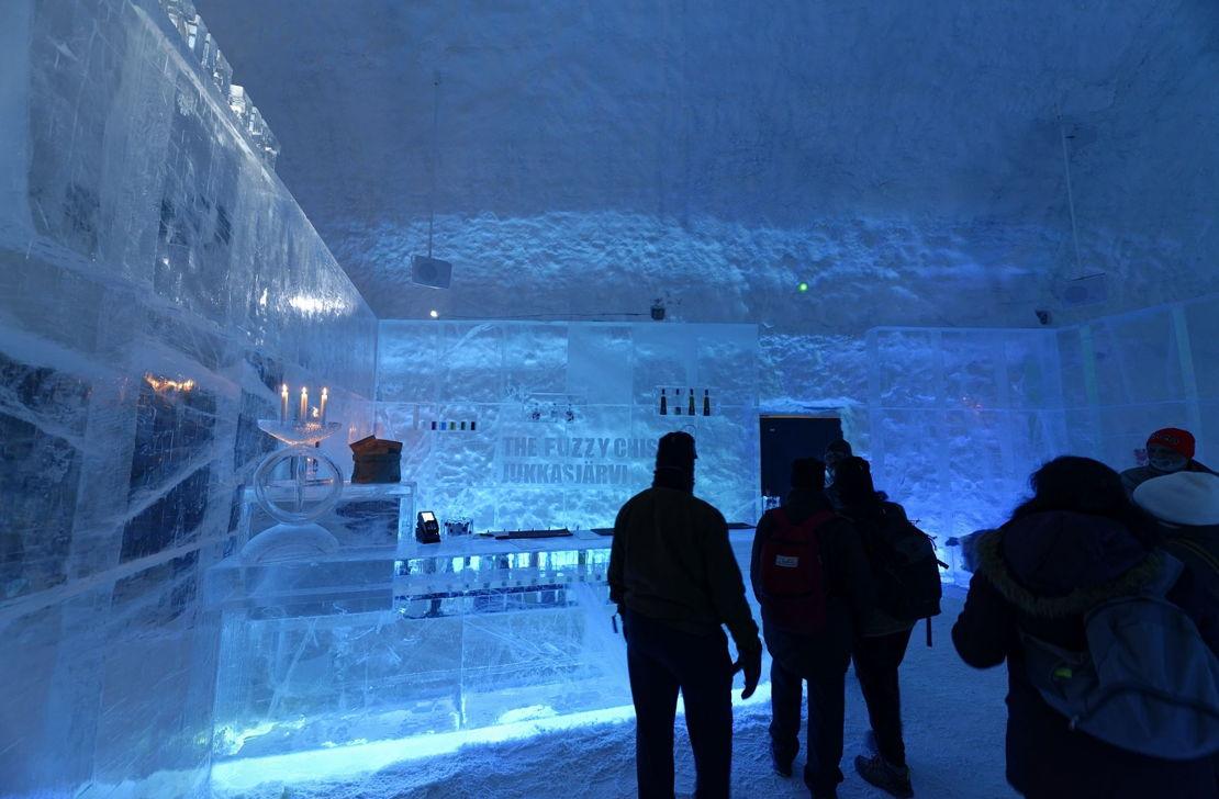 Ledová hotel