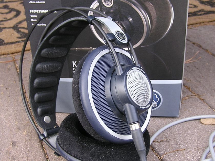 AKG  702 with Cardas headphone cable