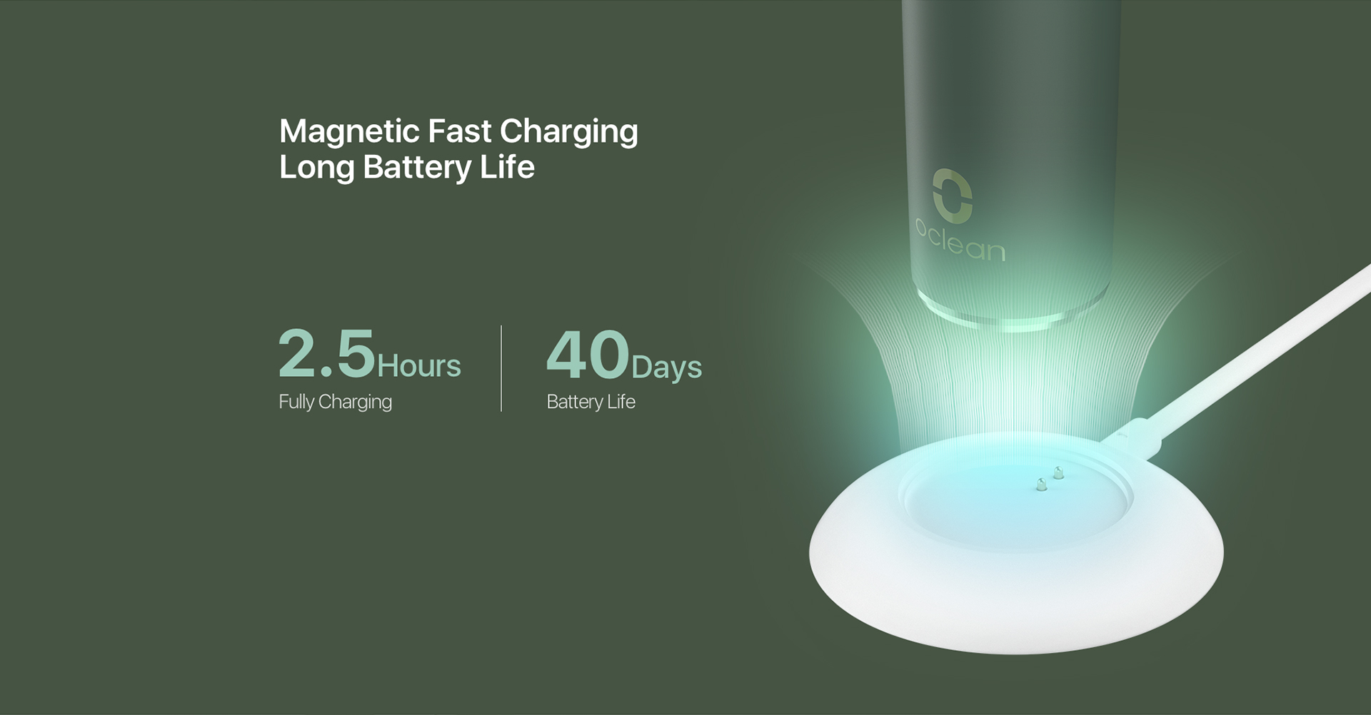 Magnetic Fast Charging Long Battery Life